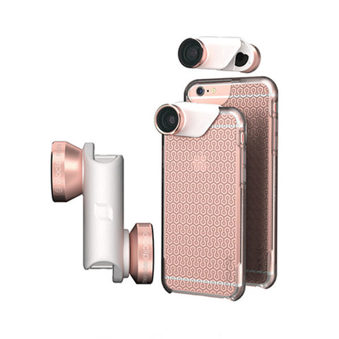 OLLOCLIP Ollocase<br/>4 合 1 鏡頭組 iPhone 6/6S 6/6S Plus (共2色)