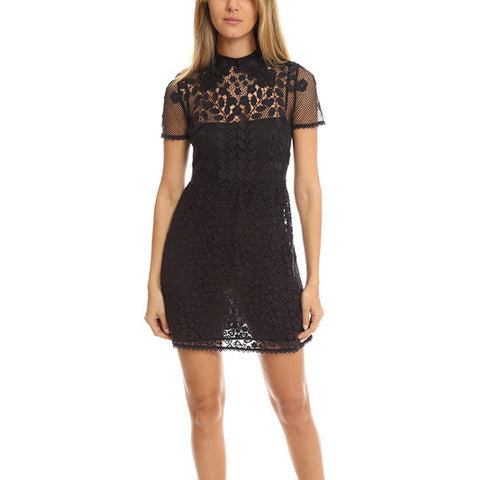 RED VALENTINO Lace Dress<BR/>雕花摟空洋裝