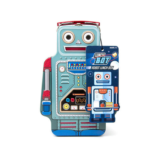 SUCK UK Robot Lunch Box<br/>復古機器人餐盒