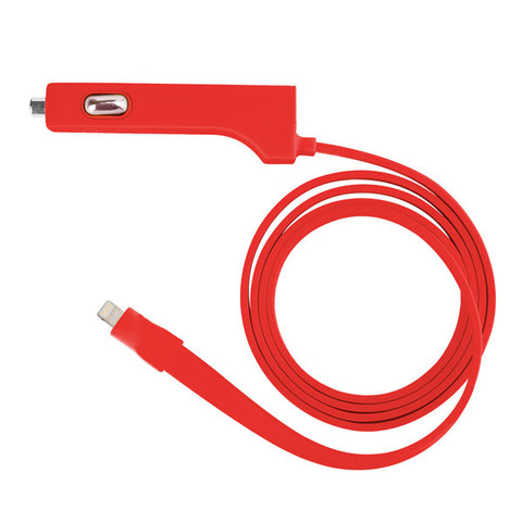 TYLT Ribbn Lightning Cable with USB Port<br/>二合一車充 (Lightning 傳輸線 + USB 孔) (共4色)