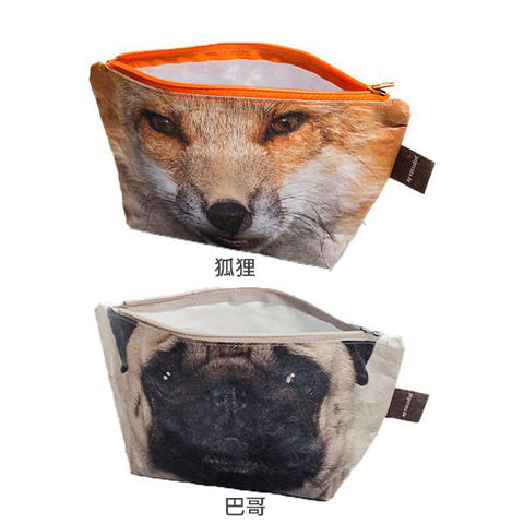PAPRCUTS. DE Makeup Bag<br/>化妝包 - 動物風 (共2款) - Shark Tank Taiwan