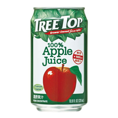 TREE TOP All Natural Apple Juice<br/>樹頂100%純蘋果汁 320ML (48入/組)