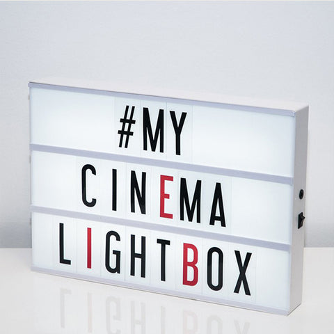 MY CINEMA LIGHTBOX XL Cinema Lightbox<BR/>復古電影院燈箱 - 放大版