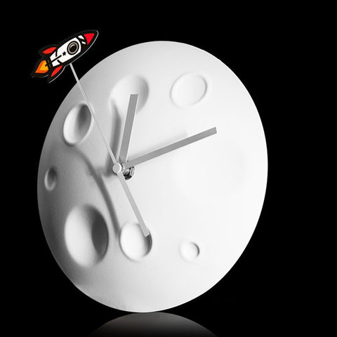 SUCK UK Rocket Moon Clock<br/>探索月球時鐘