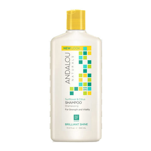 ANDALOU Sunflower & Citrus Shampoo<br/>柑橘葵花潔淨洗髮精 340ml