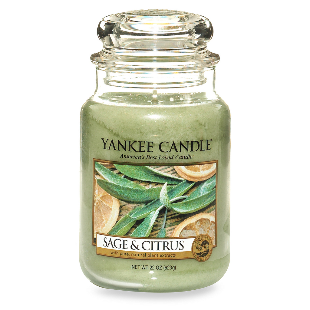 Yankee Candle® Sage & Citrus Scented Candles - Shark Tank Taiwan