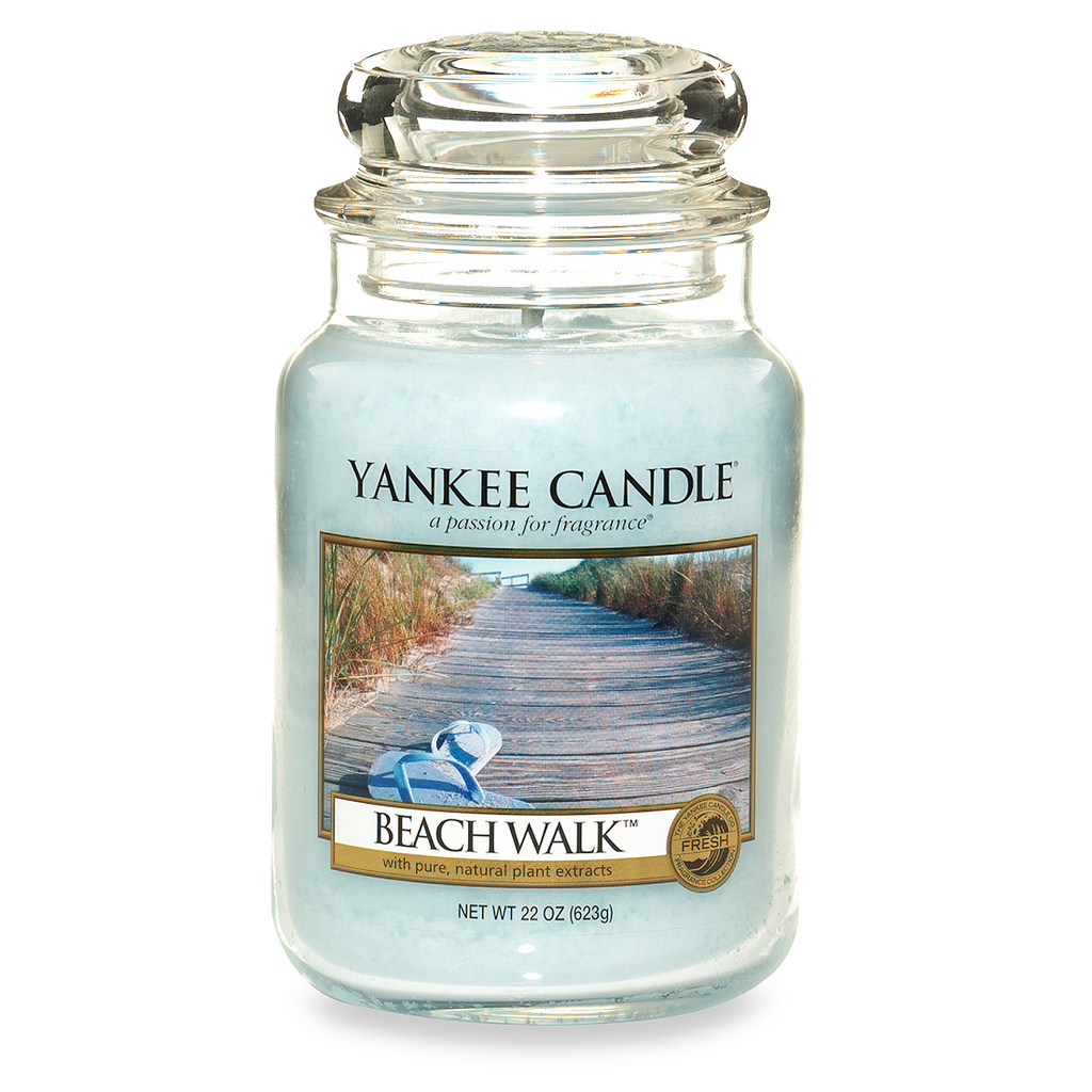 Yankee Candle® Housewarmer® Beach Walk™ Large Classic Jar Candle - Shark Tank Taiwan 歐美時尚生活網