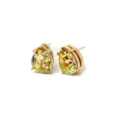 128 K Street - Earrings - Gold