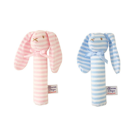 ALIMROSE Rabbit Little Grab Rattles<br/>小兔子咬咬手搖鈴 (共2色)