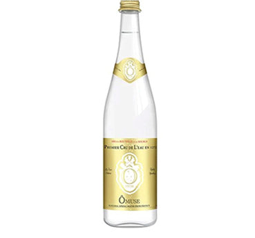 OMUSE Natural Spring Water, Lightly Sparkling 法國歐慕仕卓越微氣泡礦泉水 - 750ml (36入/3組)