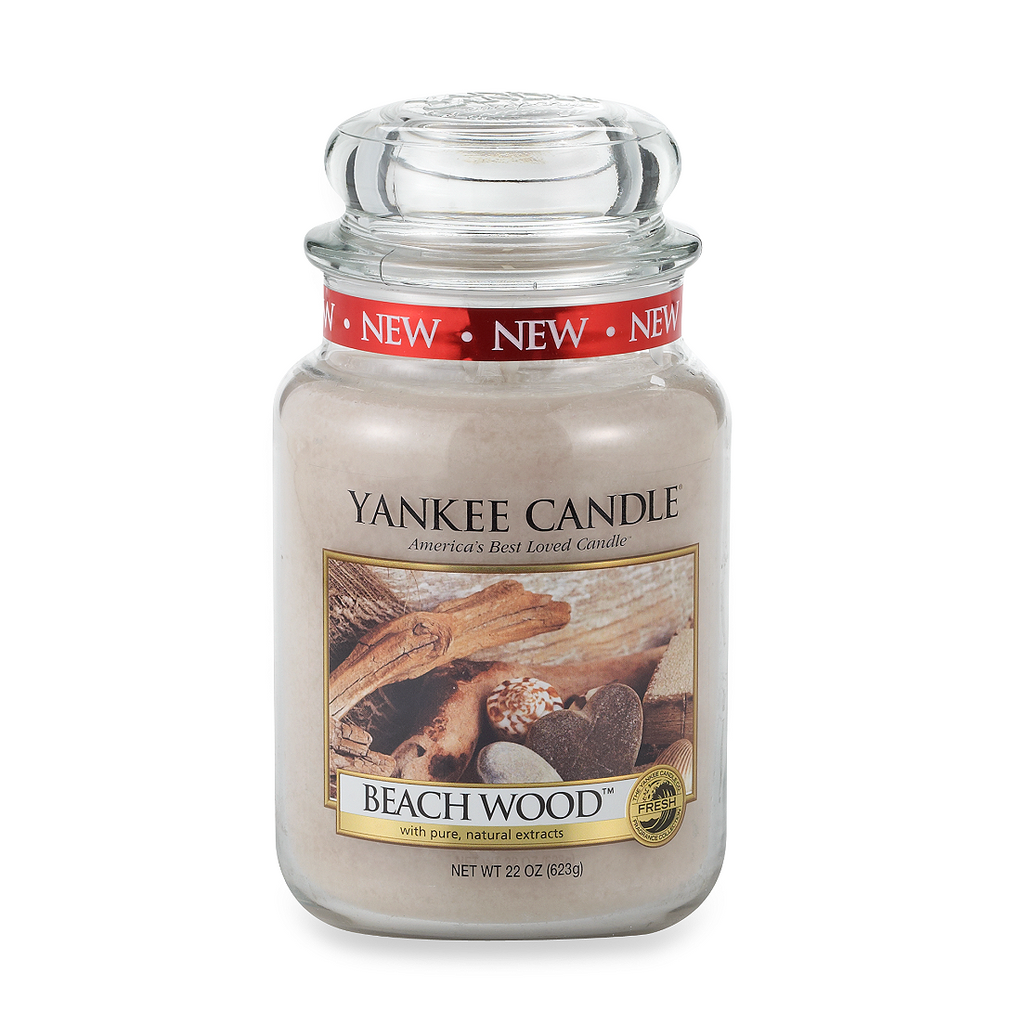 Yankee Candle® Housewarmer® Beach Wood™ Large Classic Candle Jar - Shark Tank Taiwan 歐美時尚生活網