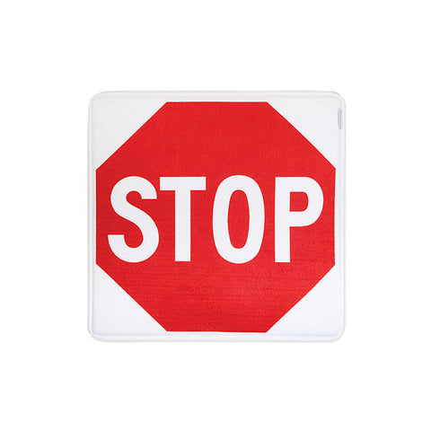 HOME INSPIRATIONS Stop Sign Bath Mat<br/>趣味記憶綿浴墊 - 全面停止