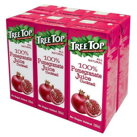 TREE TOP All Natural Pomegranate Juice<br/>樹頂100%石榴莓綜合果汁 200ml (48入/組)