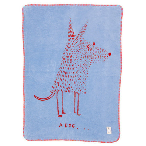 FABULOUS GOOSE Organic Cotton Blanket<br/>超柔軟刷毛棉毯 有機棉系列 - A Dog (共4色)
