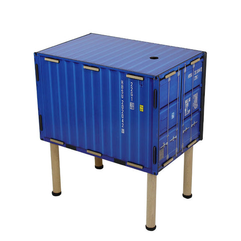 WERKHAUS Container Storage Table<br/>工業風貨櫃收納邊桌