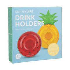 SUNNYLIFE Inflatable Drink Holders Fruit Salad<br/>水果沙拉充氣飲料架組