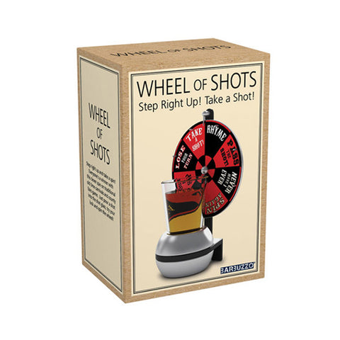 BARBUZZO Wheel Of Shots<br/>命運轉盤小遊戲