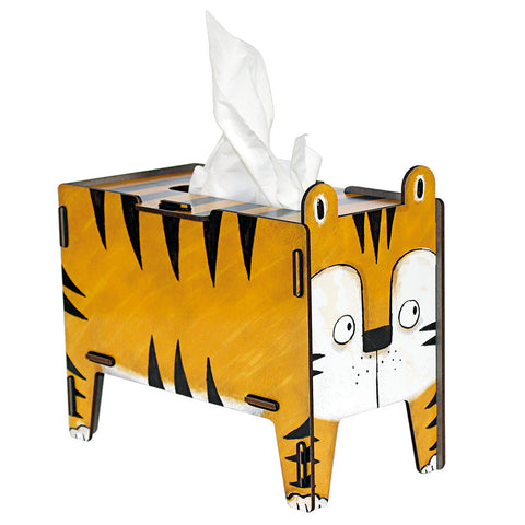 WERKHAUS Animal Tissue Box - Tiger<br/>動物趣味面紙盒 - 老虎