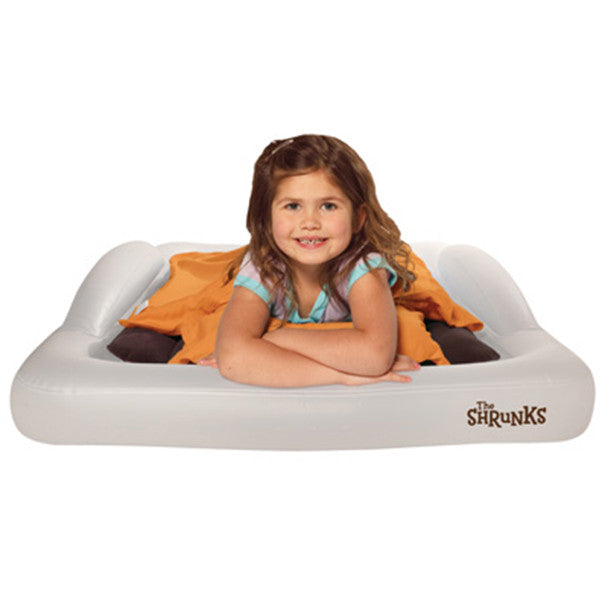 THE SHRUNKS Indoor Tuckaire Toddler Travel Bed Bundle<br/>舒朗可 防掉落旅行充氣床 - Shark Tank Taiwan