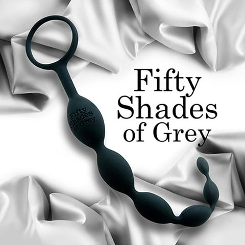 FIFTY SHADES OF GREY<br/>歡愉矽膠六連拉珠肛塞