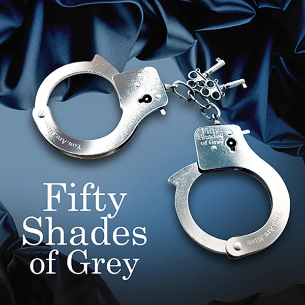 FIFTY SHADES OF GREY<br/>你是我的 安全金屬手銬 - Shark Tank Taiwan