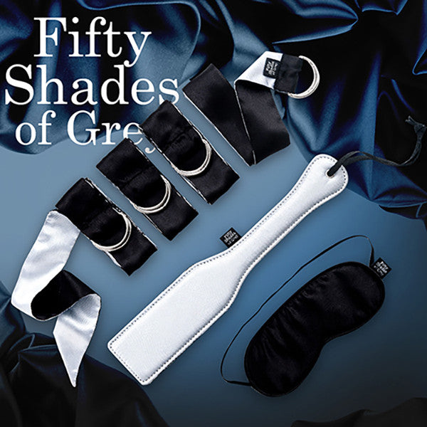 FIFTY SHADES OF GREY<br/>臣服於我 初階束縛術組 - Shark Tank Taiwan