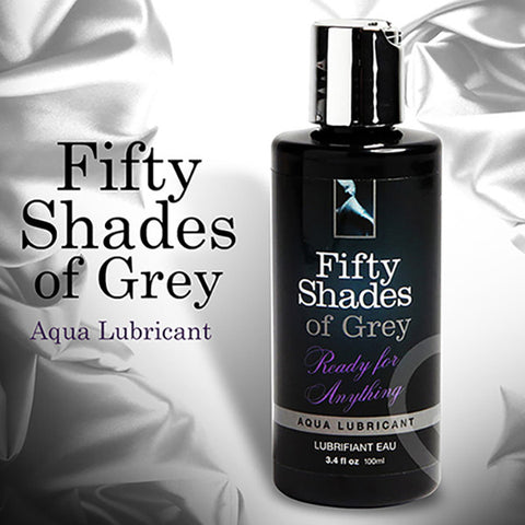 FIFTY SHADES OF GREY<br/>一切就緒 水性潤滑液 100ml - Shark Tank Taiwan