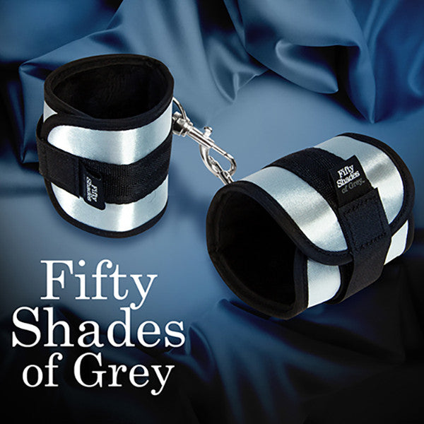 FIFTY SHADES OF GREY<br/>完全屬於他 柔軟束縛手銬 - Shark Tank Taiwan