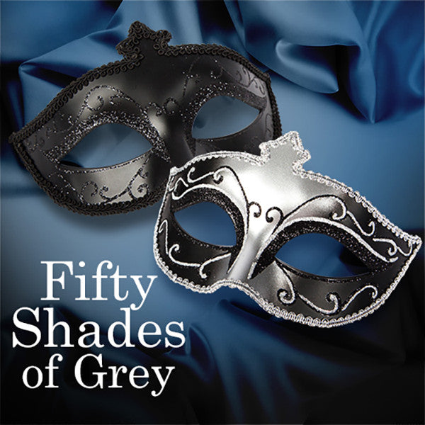 FIFTY SHADES OF GREY<br/>華麗舞會面具 2 入組 - Shark Tank Taiwan