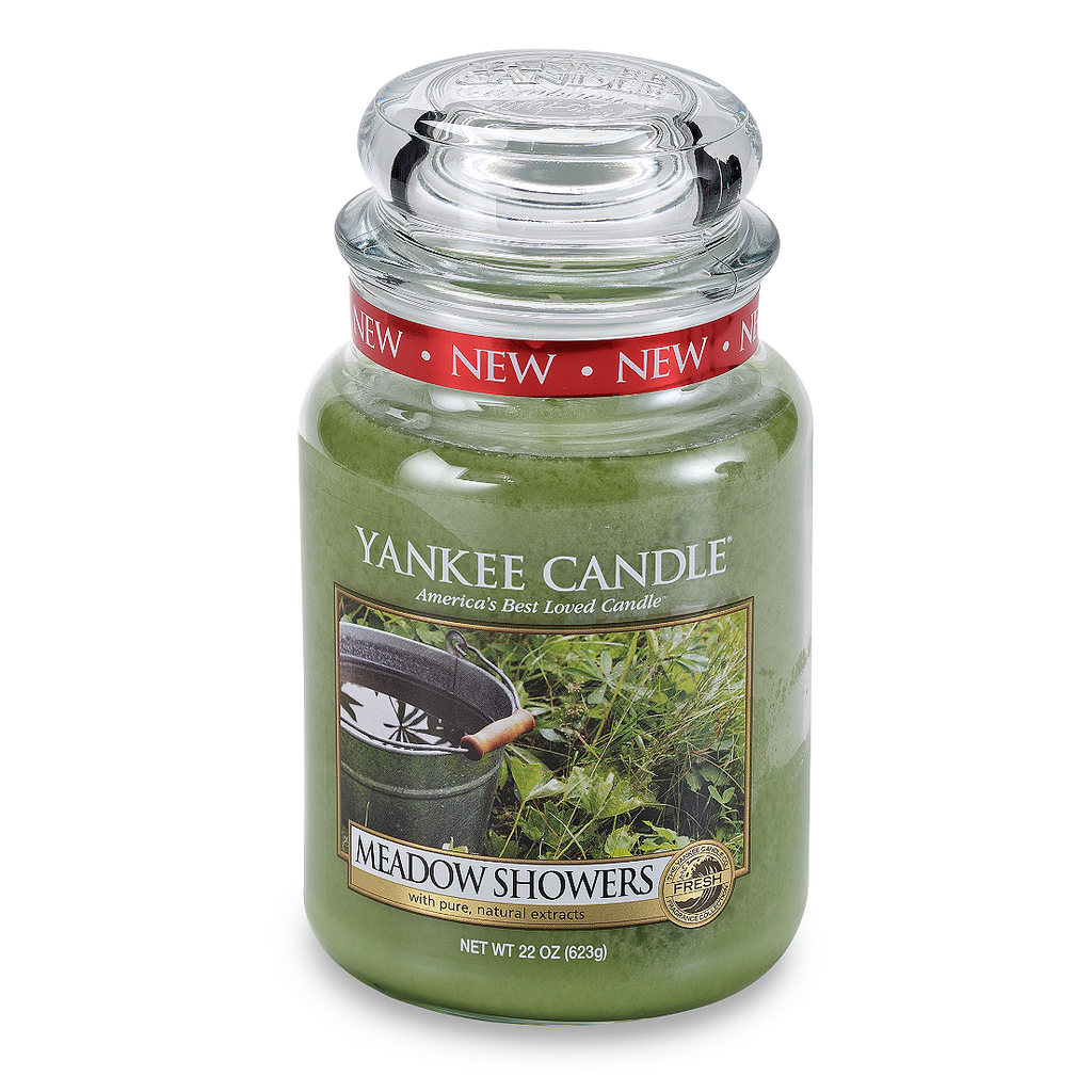 Yankee Candle® Housewarmer® Meadow Showers Large Classic Candle Jar - Shark Tank Taiwan 歐美時尚生活網