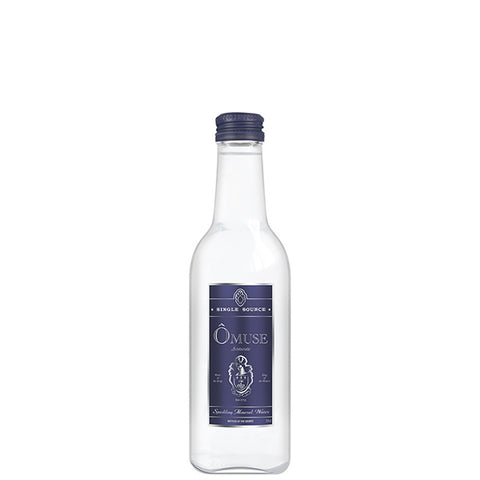 OMUSE Sparkling Mineral Water, Lightly Sparkling<br/>英國歐慕仕貴族微氣泡礦泉水 - 330ml (12入/組)