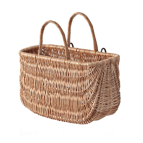 BASIL Swing Wicker Bicycle Basket<br/>歐洲手編藤籃 - Shark Tank Taiwan
