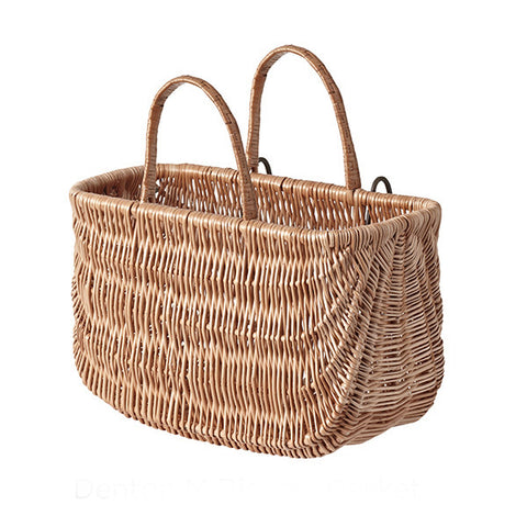 BASIL Swing Wicker Bicycle Basket<br/>歐洲手編藤籃