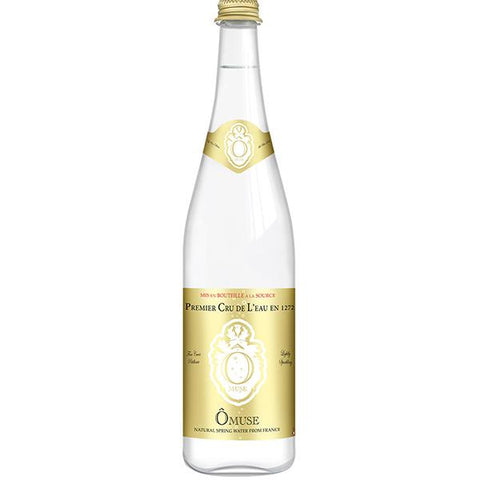 OMUSE Natural Spring Water, Lightly Sparkling<br/>法國歐慕仕卓越微氣泡礦泉水 - 750ml (12入/組)