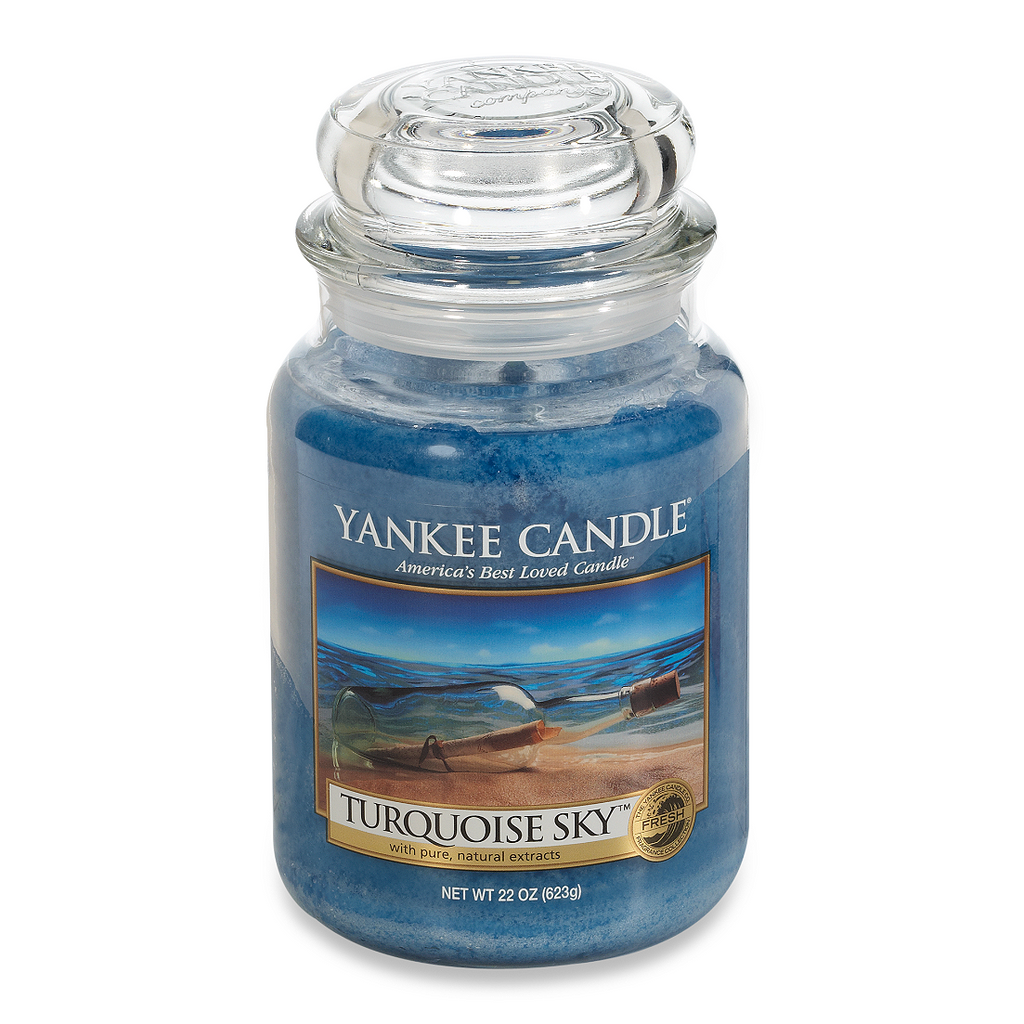 Yankee Candle® Turquoise Sky™ Large Classic Candle Jar - Shark Tank Taiwan