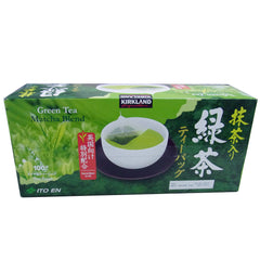 Kirkland Signature Matcha Blend Green Tea 抹茶包 (100入) - Shark Tank Taiwan