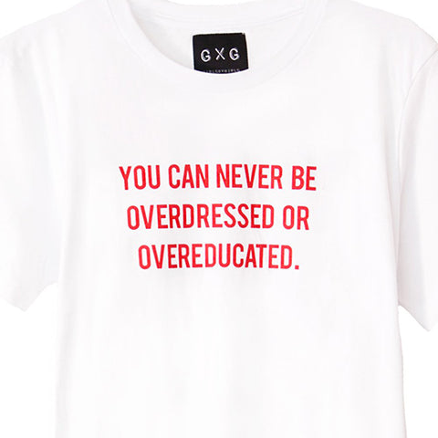 THE STYLE CLUB<br/>You're Never Fully Dressed 短袖 Tee