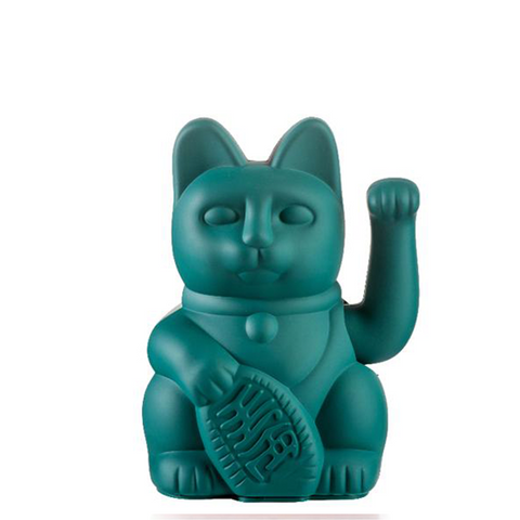 DONKEY PRODUCTS Maneki - Neko<BR/>幸運繽紛招財貓 - 綠
