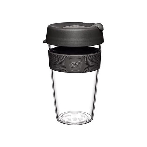 KEEPCUP Reusable Coffee Cup<br/> 輕漾系列咖啡杯 454ml - 鎧甲銀