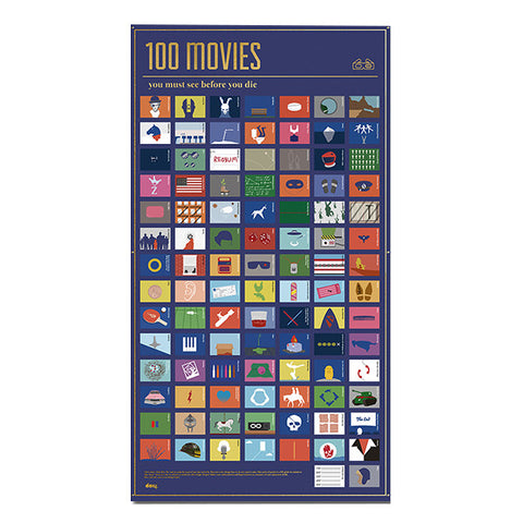 DOIY 100 Movies That Must Be Seen Before Death<br/>100 部死前必看的電影