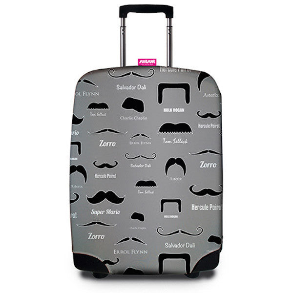 SUITSUIT Suitcase Cover<br/>行李箱保護套 - 翹鬍子 - Shark Tank Taiwan