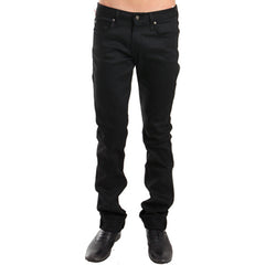 Skinny Guy in Black Power Stretch<br/>緊身黑褲 - Shark Tank Taiwan
