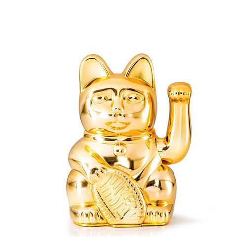 DONKEY PRODUCTS Maneki - Neko<BR/>幸運繽紛招財貓 - 金