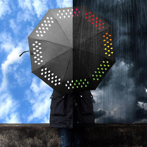 SUCK UK Color Change Umbrella<br/>氣象傘