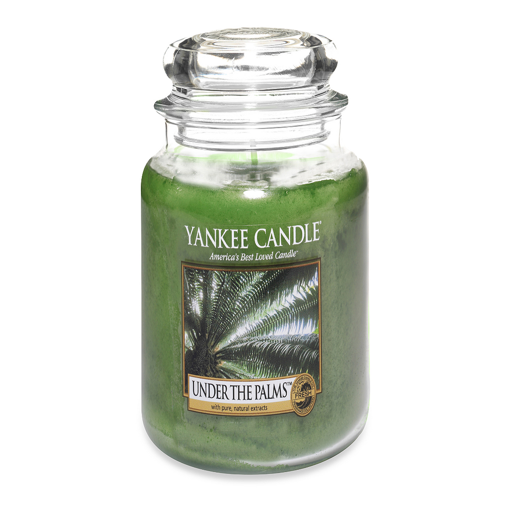 Yankee Candle® Under the Palms™ Large Jar Candle - Shark Tank Taiwan 歐美時尚生活網