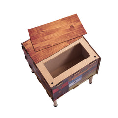 WERKHAUS Antique Storage Table<br/>復古拼接收納邊桌 - Shark Tank Taiwan