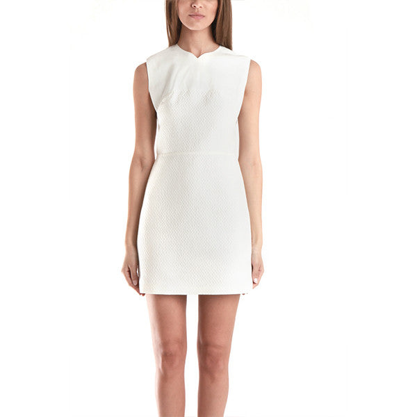 3.1 PHILLIP LIM Double Crepe Tank Dress<br/>純白拼布洋裝