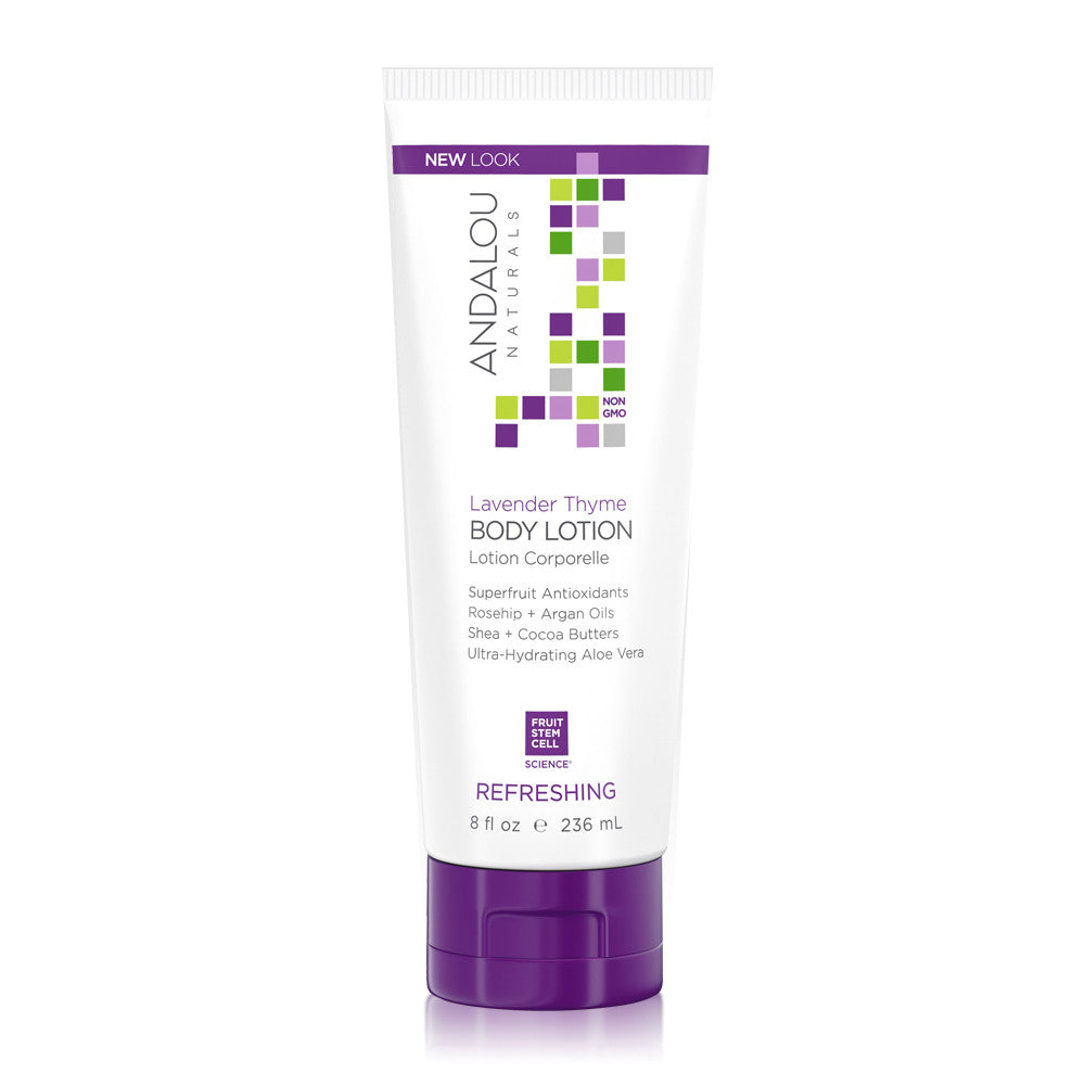 ANDALOU  Body - Lavender Thyme Refreshing Body Lotion<br/>薰衣草百里香潤膚乳 236ml