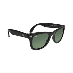RAY BAN -  Folding Wayfarer Black Plastic 50mm Men's Sunglasses - Shark Tank Taiwan