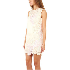 3.1 PHILLIP LIM Sleeveless Organza Dress<br/>純白不規則雕花洋裝